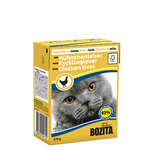 BOZITA Chunks in Jelly with Chicken Liver 370g