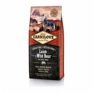 CARNILOVE LAMB & WILD BOAR FOR ADULT 12kg