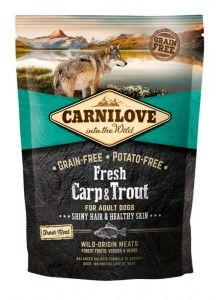 CARNILOVE FRESH CARP & TROUT FOR ADULT 1,5kg