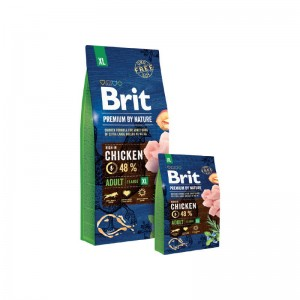 Karma - BRIT PREMIUM BY NATURE ADULT XL 15 kg