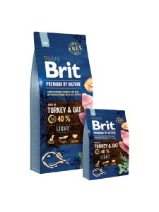 Karma - BRIT PREMIUM BY NATURE LIGHT 15 kg