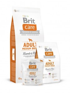 Karma - BRIT CARE ADULT MEDIUM BREED LAMB & RICE 3 kg