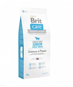 Karma - BRIT CARE GRAIN-FREE JUNIOR LARGE BREED SALMON & POTATO 12 kg