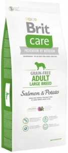 Karma - BRIT CARE GRAIN-FREE ADULT LARGE BREED SALMON & POTATO 12 kg