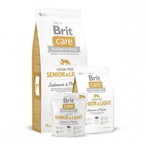 Karma - BRIT CARE GRAIN-FREE SENIOR & LIGHT SALMON & POTATO 12 kg