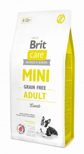 BRIT CARE MINI GRAIN-FREE ADULT LAMB 2 kg