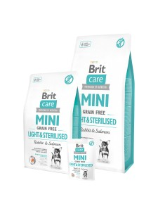 Karma - BRIT CARE MINI GRAIN-FREE LIGHT&STERILISED 7 kg