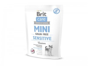 BRIT CARE MINI GRAIN-FREE SENSITIVE 400 g