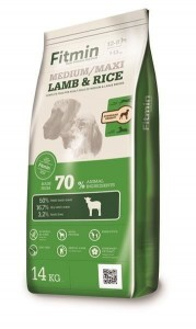 FITMIN dog medium maxi lamb&rice 14kg