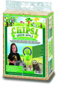 "CHIPSI Green Apple 60l, 3,2 kg ""wiórowe"""