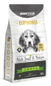 Euphoria Adult Small&Medium Breed - LAMB 12kg