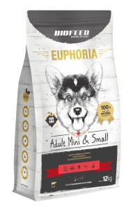 Euphoria Adult Mini&Small Breed - BEEF 12kg